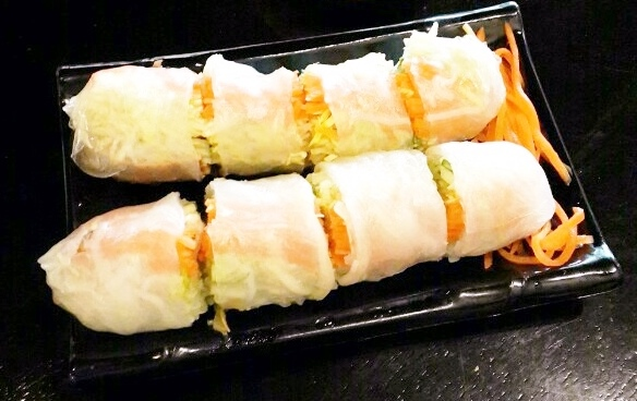 Pork paper rolls