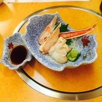 Raw Crab Tsukuri